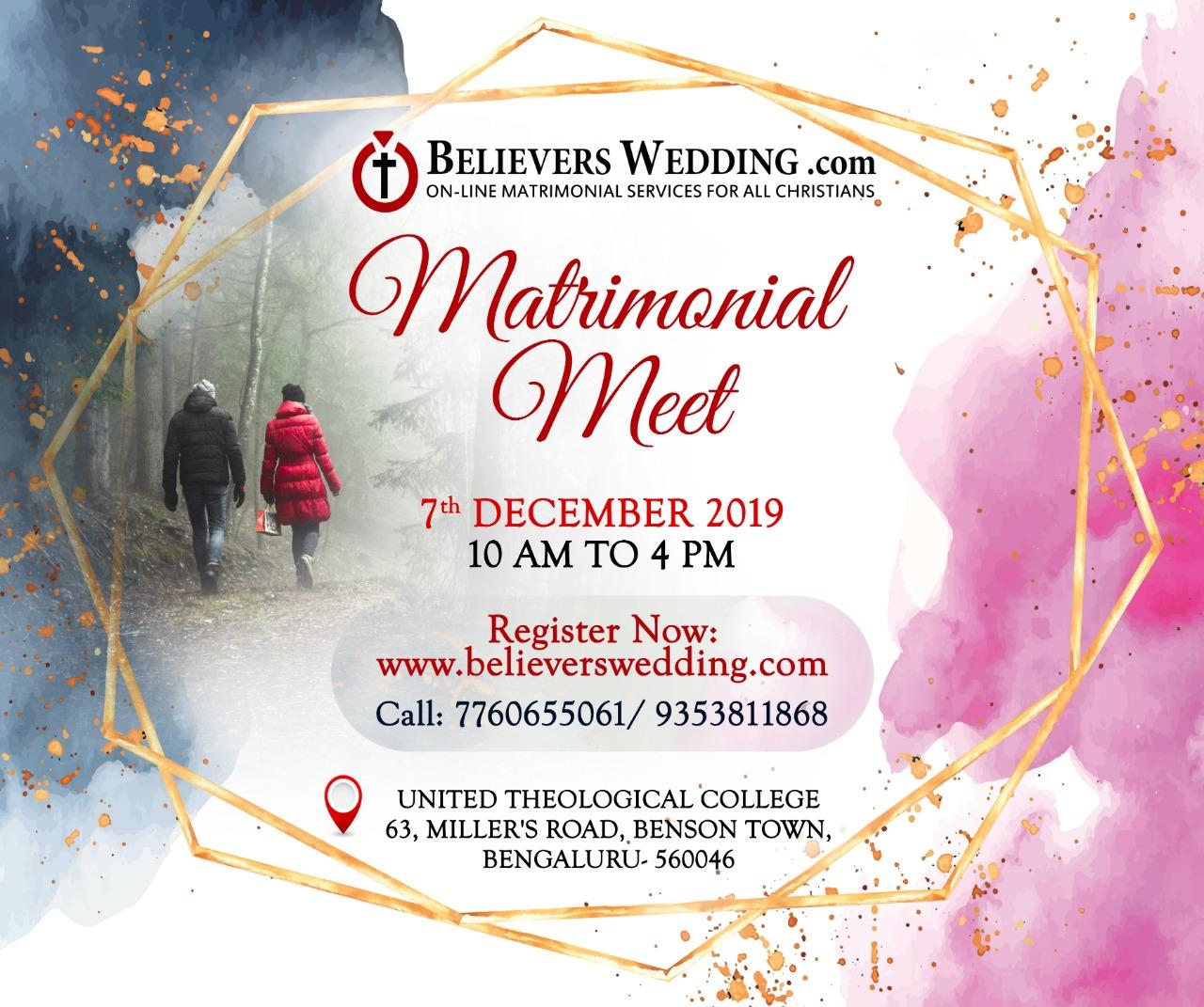 Matrimonial Meet - December 2019